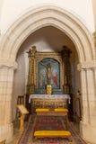 Interior of the Church Santa Maria Delle Grazie in Castelsardo, Royalty Free Stock Photography