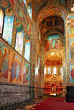 Interior of the Church  Savior Stock Image