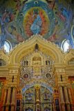 Interior church of the saviour and the spilled blood Royalty Free Stock Images