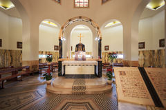 The interior of church Stock Photography