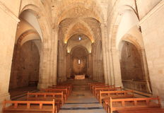 Interior of the Church of St. Anne, Jerusalem Royalty Free Stock Images