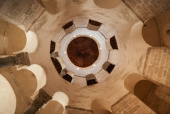 Interior of Church of St. Donat in Zadar Stock Photography