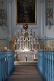 Interior of church of St. Elizabeth Stock Image
