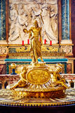 The interior of the church of St. Mary Major, Santa Maria Maggiore is full of works of art Royalty Free Stock Photography