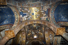 The interior of the church of St. Mary, Palermo Royalty Free Stock Images