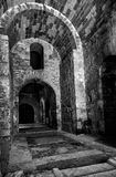 Interior of the Church of St. Nicholas in Demre, Turkey. Royalty Free Stock Images