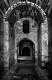 Interior of the Church of St. Nicholas in Demre, Turkey. Stock Photography