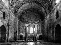 Interior of the Church of St. Nicholas in Demre, Turkey. Royalty Free Stock Photo