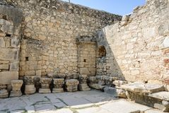 Interior of the Church of St. Nicholas in Demre, Turkey Stock Photography
