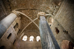 The interior of the Church of St. Nicholas, Royalty Free Stock Photo