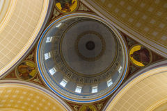 Interior of the Church of St. Nicholas Royalty Free Stock Images