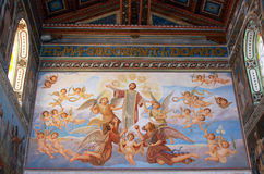 Interior of the church of St. Stephen Royalty Free Stock Photography