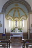 Interior of a chapel Stock Image