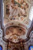 The interior of the church in Sternberk, Moravia Royalty Free Stock Images
