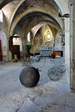 Interior of the church Vaison la Romaine Stock Photography