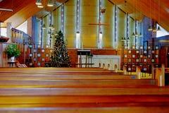 Interior of church Stock Photography