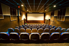 Interior of the cinema Royalty Free Stock Photos