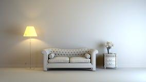 Interior cinzento Foto de Stock