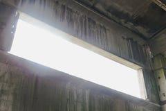 Interior cinzento velho abstrato Foto de Stock