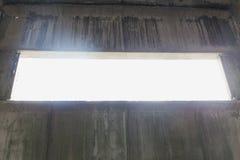Interior cinzento velho abstrato Imagens de Stock