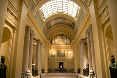 Interior of city Boston Fine Arts Museum Royalty Free Stock Photos