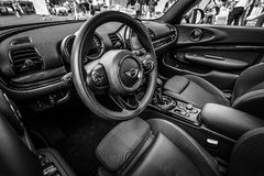 Interior of a city car Mini Cooper S Convertible Stock Photography