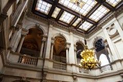 Interior of city hall of Barcelona Stock Photography