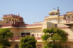 Interior of the city palace, Jaipur, India. Royalty Free Stock Photos