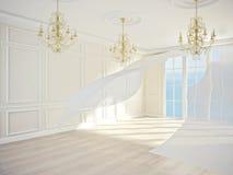 Interior clásico Fotografía de archivo libre de regalías