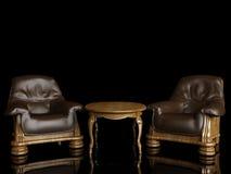 Interior clásico Imágenes de archivo libres de regalías