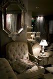 Interior clásico de la sala de estar Fotos de archivo libres de regalías