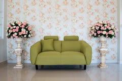 Interior clásico de la sala de estar Imagen de archivo