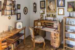Interior clásico en el estilo de Biedermeier Fotos de archivo