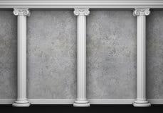Interior clássico com coluna Imagem de Stock Royalty Free