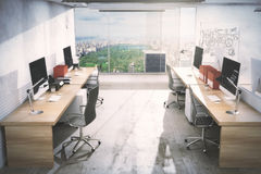 Interior claro do escritório Imagens de Stock