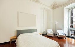 Interior, classic bedroom Royalty Free Stock Photography