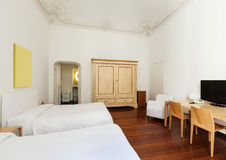 Interior, classic bedroom Royalty Free Stock Images