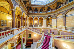 Interior of classic building Royalty Free Stock Image