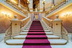 Interior of classic building Royalty Free Stock Photos