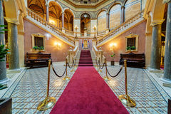 Interior of classic building Royalty Free Stock Images