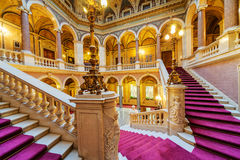 Interior of classic building Royalty Free Stock Photo