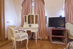Interior of a classic style villa Stock Photos