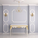 Interior in classical style Royalty Free Stock Image