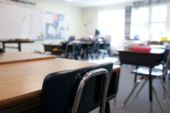 Interior of Classroom Stock Photos