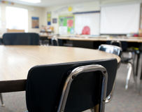 Interior of Classroom Stock Images
