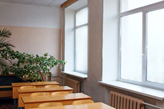 Interior of classroom Royalty Free Stock Images