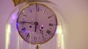 Interior clocks closeup. Interior clocks close up steadicam stock footage