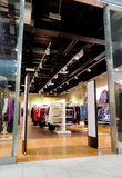 Interior of clothing store Royalty Free Stock Photos