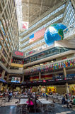Interior of CNN Center in Atlanta Royalty Free Stock Photo