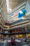 Interior of CNN Center in Atlanta Royalty Free Stock Photo